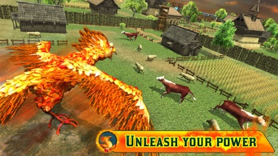 Angry Phoenix Revenge 3D screenshot three