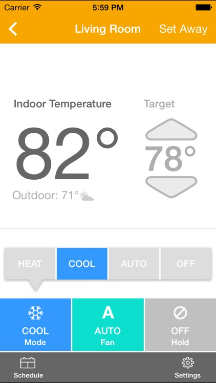 EnergyHub Thermostat screenshot-0