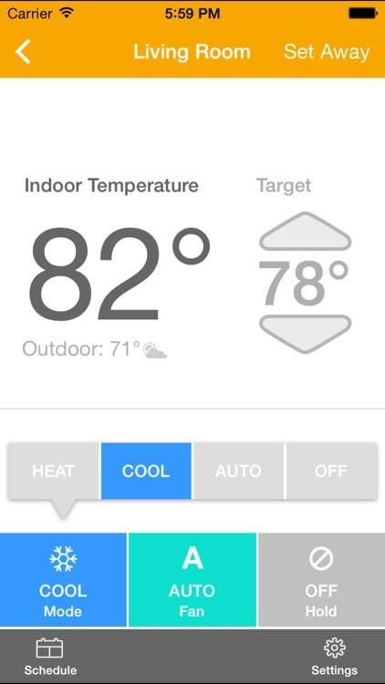 EnergyHub Thermostat