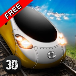 Euro Bullet Train Driving Simulator 3D