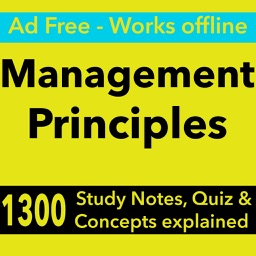 Management Principles Exam Review : 1300 Quiz & Study Notes