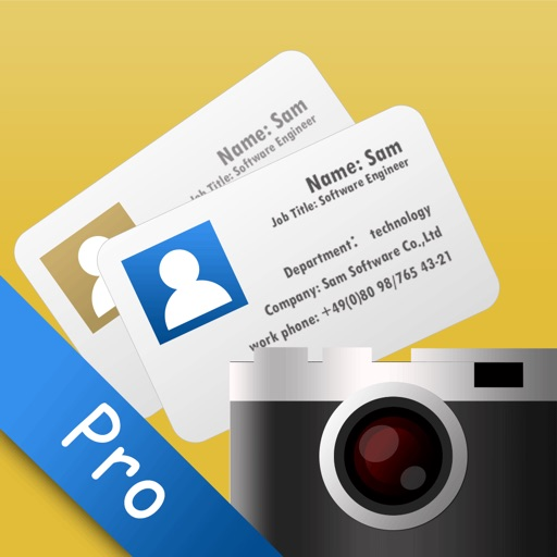 SamCard Pro-card reader&business card scanner&ocr