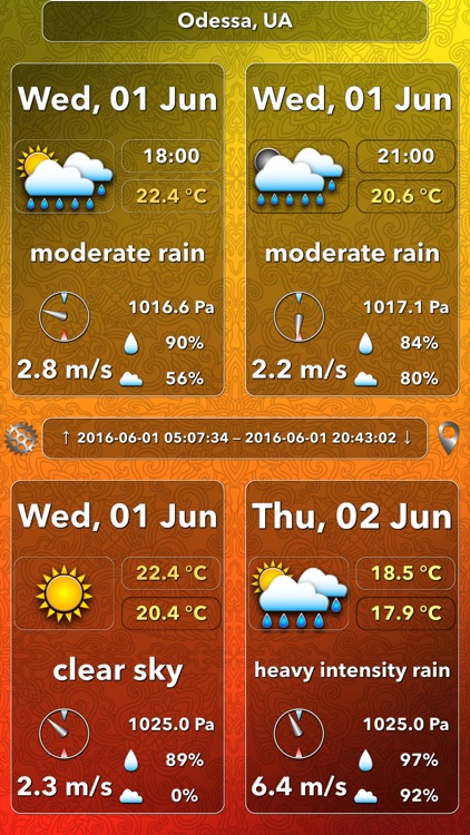 OWeather - weather forecast and weather maps
