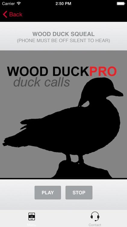 Wood Duck Calls - Wood DuckPro - Duck Calls