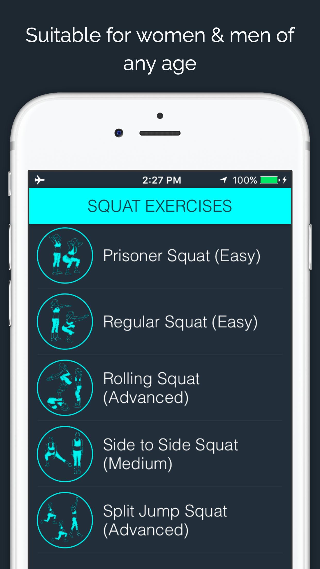 30 Day - Squat Challenge Screenshot