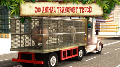 Zoo Animal Transport Truck Driving and Parking Mania screenshot two