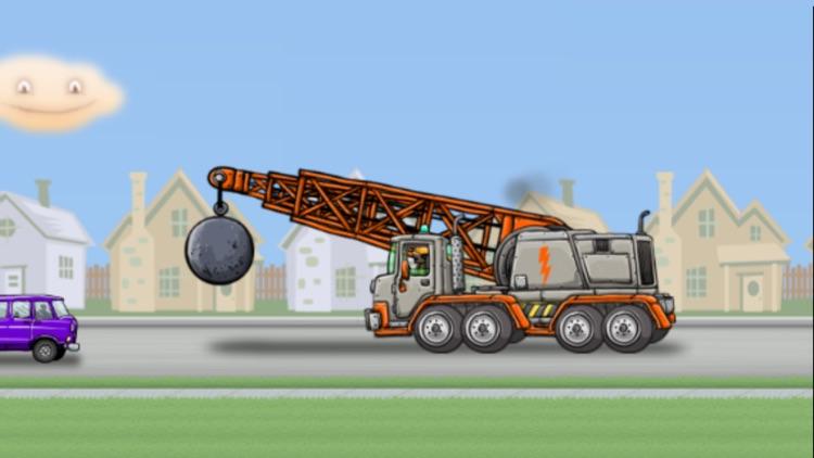 Wrecking Ball Truck screenshot-3