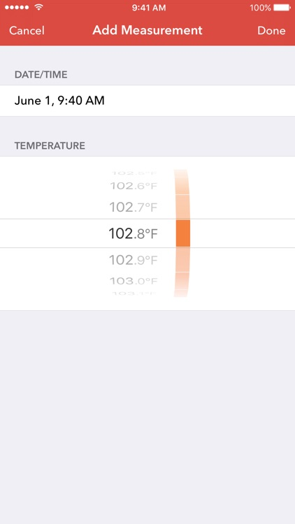 Feevy – Fever Tracker with Sync, Perfect for Families with Kids screenshot-4