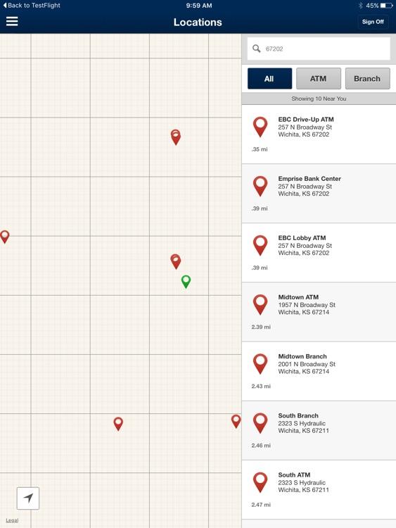 Emprise Bank Business for iPad screenshot-4