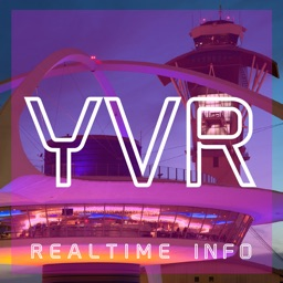 YVR AIRPORT - Realtime Info, Map, More - VANCOUVER INTERNATIONAL AIRPORT