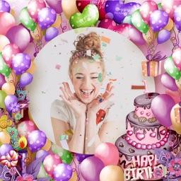 Birthday Photo Frame - Amazing Picture Frames & Photo Editor
