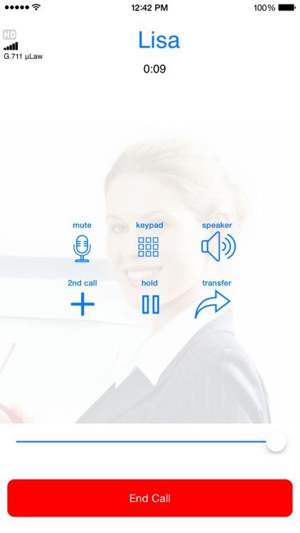 Media5-fone Pro VoIP SIP Softphone screenshot-3