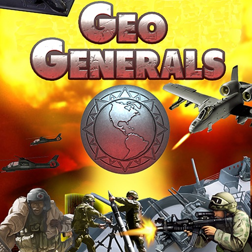 Geo Generals - Location Based War MMO Strategy Game