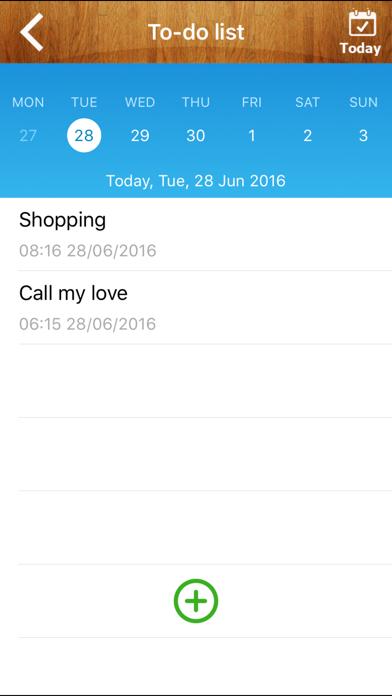Good Calendar Free- Beautiful Calendar, To-do List, Weather, Notes Locker screenshot four