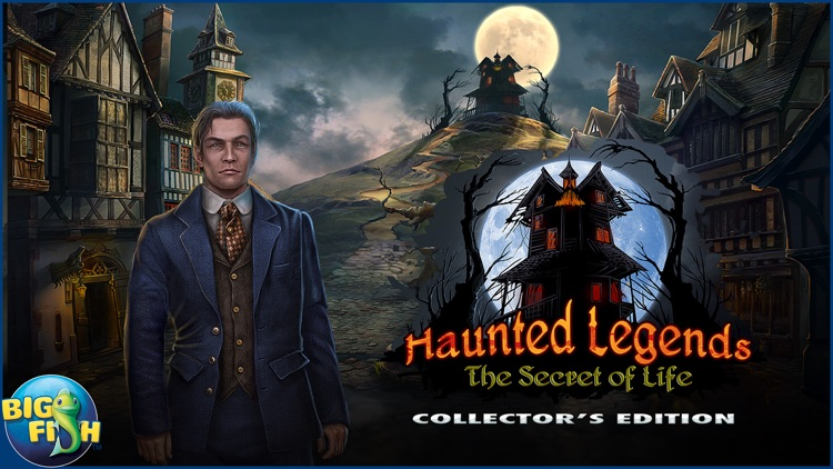 Haunted Legends: The Secret of Life - A Mystery Hidden Object Game (Full) screenshot-4