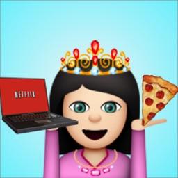 Sassmoji - Sassy Emojis & Overlays Keyboard for Emoji Girls
