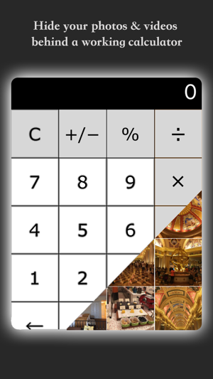 My Calculator - Hide photos and videos Screenshot