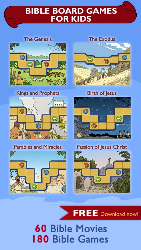 Bible Board Games for Kids - Online Game Hack and Cheat