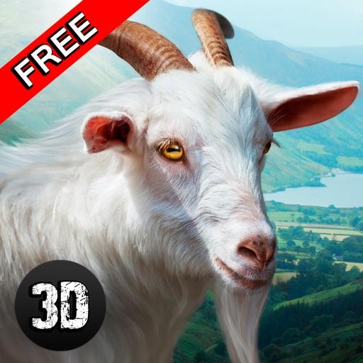 Wild Goat Survival Simulator 3D iOS App