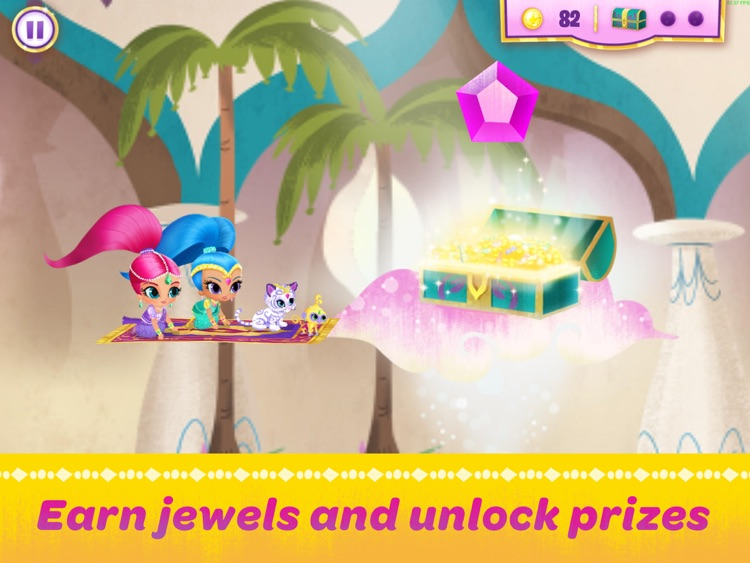 Shimmer and Shine: Enchanted Carpet Ride Game HD screenshot-3