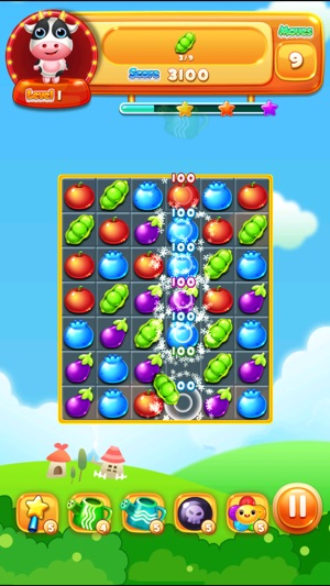 Garden Crush: The Best Fun Candy for Free 3 Match Puzzle Games on