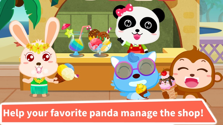 Ice Cream & Smoothies : Panda Shop screenshot-3