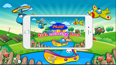 Coloring book(Toys) : Coloring Pages & Fun Educational