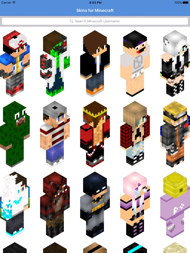 Skins For Minecraft PE Skins On The App Store - Skins para minecraft pe kpop