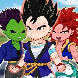 DBZ Goku Royale Dress Up  - Create Your Own Clash Super Saiyan Dragon Ball Z Edition