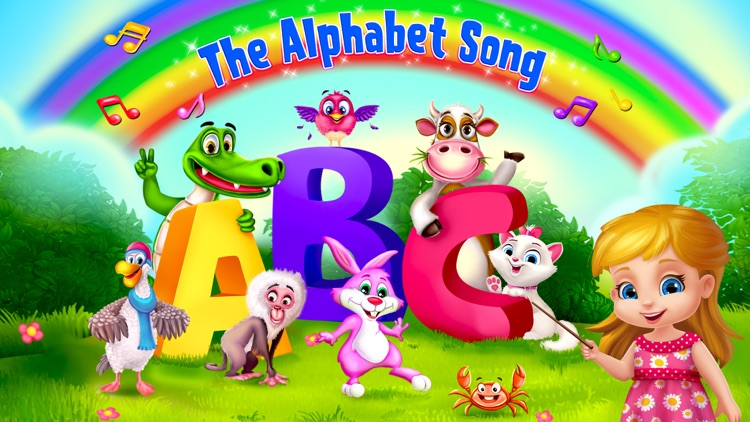 The ABC Song Educational Game screenshot-0