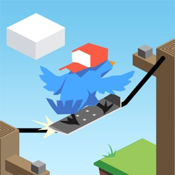 Bird Up: Apocalypse Skateboard Grind Adventure Game FREE