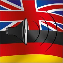 English / German Talking Phrasebook Translator Dictionary - Multiphrasebook