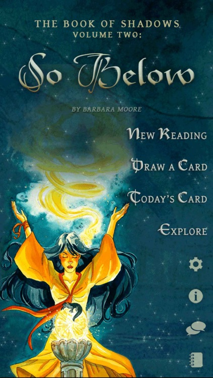 The Book of Shadows Tarot - So Below