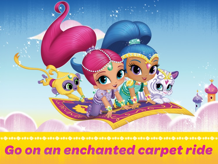 Shimmer and Shine: Enchanted Carpet Ride Game HD screenshot-0