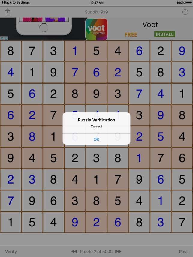 Sudoku 9x9 Game on the App Store