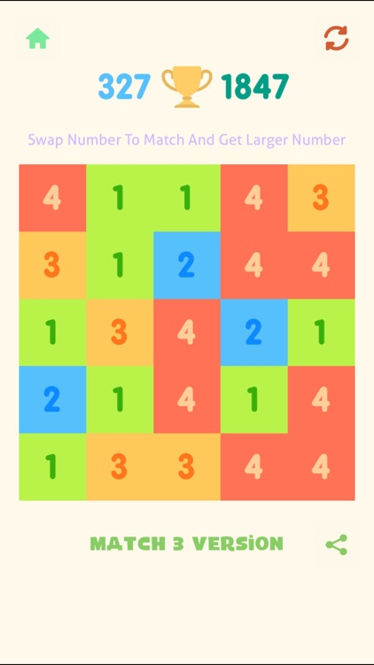 Just Match 3 - Get 10 Numbers Puzzle screenshot-0