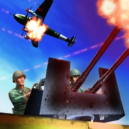 Allied WWII Base Defense - Anti-Tank and Aircraft Simulator Game PRO