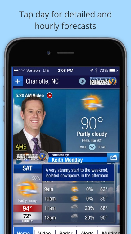 WSOC-TV Channel 9 Weather App screenshot-1