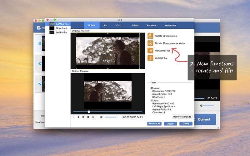 Anymp4 Mkv Converter review screenshots