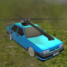 Flying Hawk Car Simulator 3D