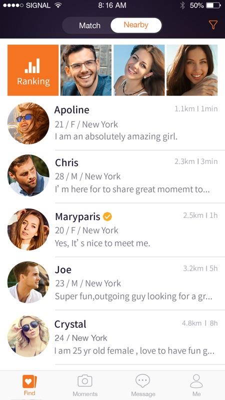najbolja aplikacija za upoznavanje u mobilnim telefonima 2015