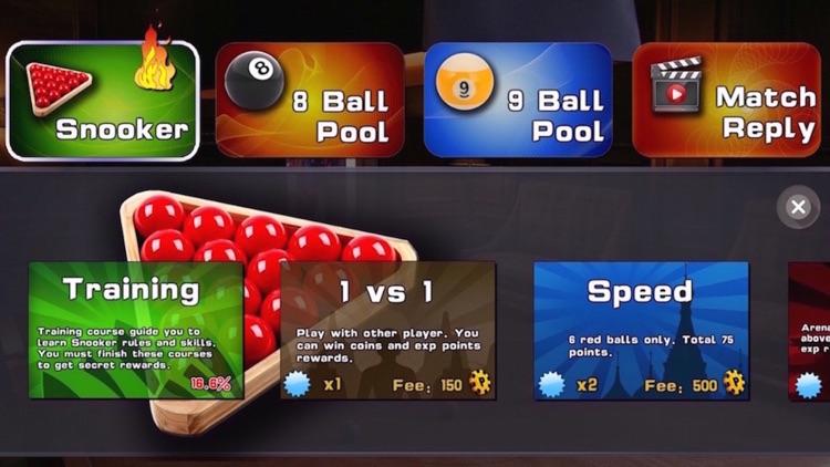 SNOK-World best online multiplayer snooker game! screenshot-0