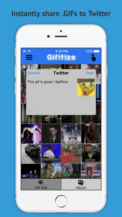 Gifitize Pro - Twitter GIF Downloader screenshot-1