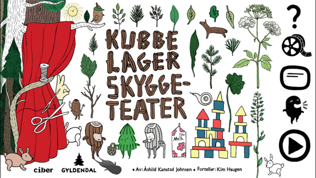 ‎Kubbe lager skyggeteater Screenshot