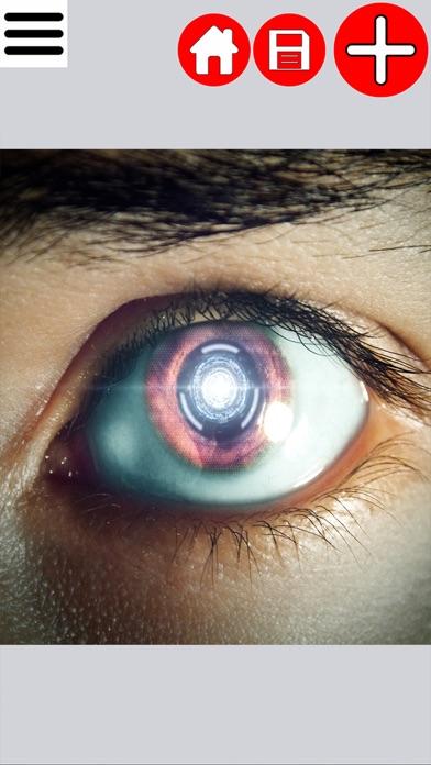 Futuristic Eye Editor screenshot two