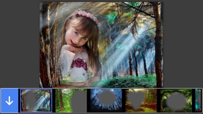 Forest Photo Frame - Picture Frames + Photo Effects