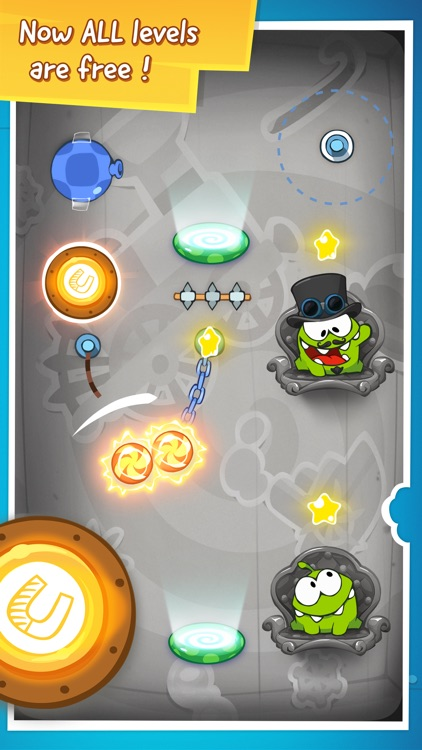 Cut the Rope: Time Travel™ screenshot-4