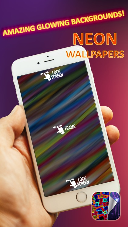 Neon Wallpapers Free – Glowing HD Backgrounds with Fluorescent Light Themes screenshot-3