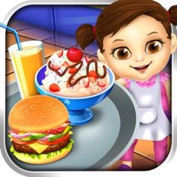 European Food Chef - for Burger Frenzy & Kitchen Sandwich Cooking Scramble