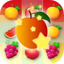 Stick Fruit Line: Match3 Free